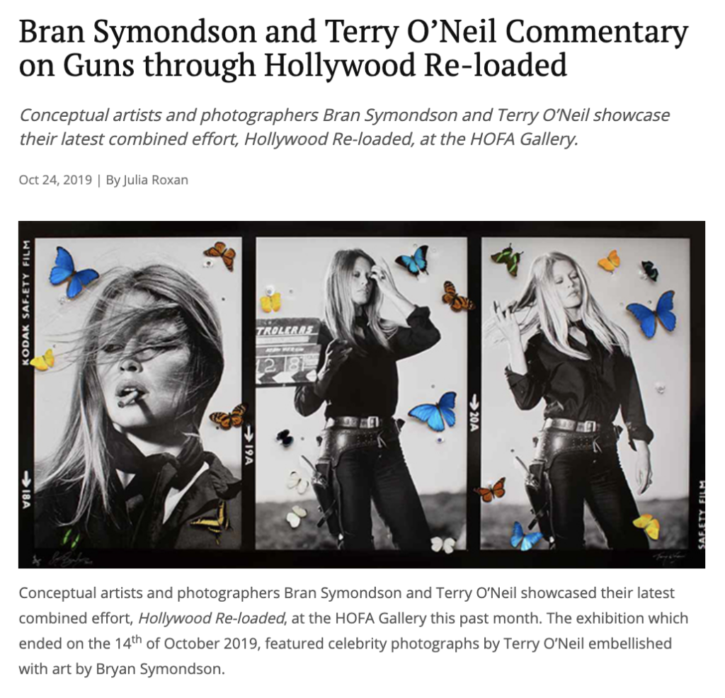 Terry O'Neil Bran Symondson